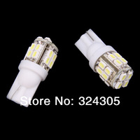 2X T10 W5W  501 1206 20SMD LED  Inverted Side Wedge car lamp bulbs door Interior Map clearance lights white high power 2W