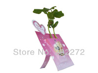 Free shipping magic bean card creative brithday gift christmas new year plant greeting card holiday ornament valentine gift
