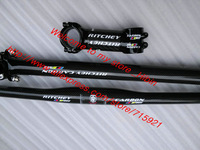 Hot sale !! R1TCHEY WCS Carbon MTB handlebar Stem seatpost bike parts