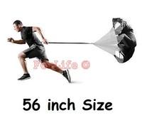 Speed Training Resistance Parachute 56'' Speed Chute Running Umbrella parachute for running 1pc
