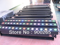 LED DMX RGB WALL WASHER 48W (16X 3W RGB), Each LED could be indepent control, Free shipping