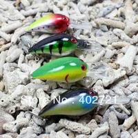 New Arrival! 40pcs /lots Fishing Tackle Hard Bait Plastic Fishing Lure Minnow 80mm/3.6in 11g/0.39oz