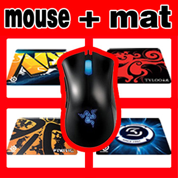 ORIGINAL Razer Deathadder Gaming Mouse 3500dpi Infrared, with OEM SS QCK+mousepad Free and Fast Shipping, in Stock.