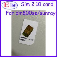 DM800se Sim Card 2.10 SIM2.10 Card For DM800se Satellite Receiver Free Shipping