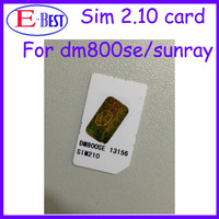 DM800se Sim Card 2.10 SIM2.10 Card For DM800se Satellite Receiver Free Shipping