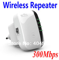 Wireless-N Wifi Repeater 802.11N/B/G Network Router Range Expander 300M Wireless Boosters +Free Shipping