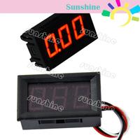 New Red LED Panel Meter Mini Digital Voltmeter DC 0-30V TK0602