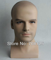 new arrival !!! Male mannequin head for wig and glass