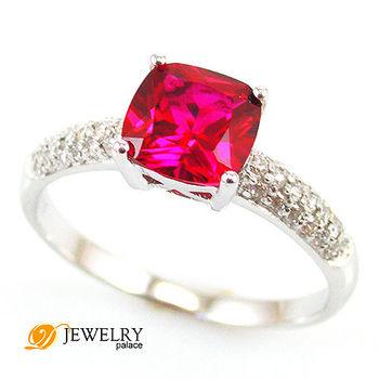 2ct рубиновое кольцо. стерлингового серебра 925 размер 6 7 8 бесплатная доставка