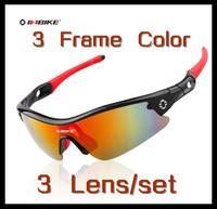 Free Shipping Brand Inbike Cycling Bicycle Bike Outdoor Sports Sun Glasses Eyewear Goggle Fashion Sunglasses 3 Lens