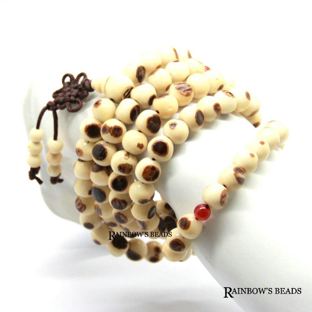 2013 nova atacado 5 pçs/lote Natural Bodhi rosário 8 x 108 mm tibetano Prayer Beads colar Mala moda pulseiras Bodhi(China (Mainland))