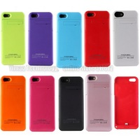 50pcs/lot New arrival 2200mAh For Iphone 5 Battery case for iphone 5S  9 colors free shipping