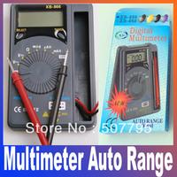 XB-866 Auto Range Digital Multimeter, AC DC Ohm Volt Digital Meter Auto Power Off drop shop