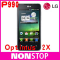 "P990 Original LG Optimus 2X P990 GPS WIFI 4.0"" 3G 8MP Unlocked Mobile Phone"
