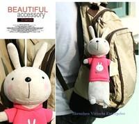 6PCS Kawaii Metoo Rabbit Pen Pencil BAG Pouch Case Pack ; Strap Pendant Pouch Bag ; Coin Purse Wallet Case BAG Pouch