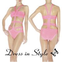2013 Free Shipping Sexy Hot Summer Bandage H L Bikini Monokini Beachwear Swimwear Swimsuit Women Lady BodyCon DS927