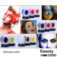 Chroma colorD507/509/510 ;Face and body paint for Football world cup fans color ;body art painting colors