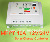 10A MPPT Solar Charge Controller Regulator Tracer 1206RN MAX PV 60V Input with MT-5 remote meter