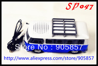 2013 newest unique design high quality mini music bus car speaker with 3 color  , free shipping by DHL 50pcs/lot