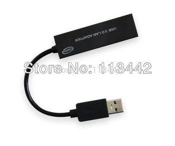 2014  Lastest  USB 3.0 Super Speed 10/100/1000Mbps Gigabit Ethernet RJ45 External Network Card Lan Adapter Hot sale