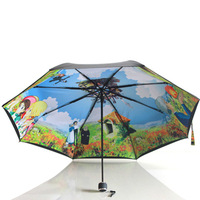 Limited collection, animation umbrellas, Howl's Moving Castle free shipping