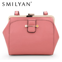 Smilyan genuine leather bags casual real leather shoulder bags women wallet small coin purse women messenger bags free shipping