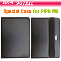 On Sale 10 Inch Leather Case Special for Pipo M9  Tablet pc FreeShipping
