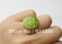 unique ceramic crack ring handmade traditional jewelry christmas gift women free shipping