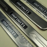high quality led door sill Car door sill plate 4pcs infiniti fx50 fx35 2011 2012