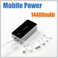 New 14400mAh PKCELL portable Power Bank External Battery pack and charger for Galaxy SIII samsung galaxy Note /iphone 4S