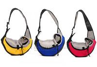 pet dog backpack single shoulder bag messenger bag
