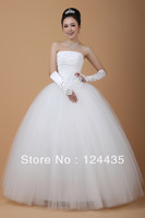Honey barack 2013 new arrival sweet princess bride wedding dress tube top bandage