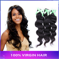 Mixed lengths top quality 4pcs/lot 100% Unprocessed Virgin Indian hair weaving 1b#  body wave 100g/bundle DHL free shipping