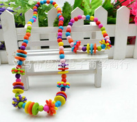 Wholesale 30set a lot Acrylic  colorful cute children's girls jewelry set necklace bracelet sets kid jewelry HR94