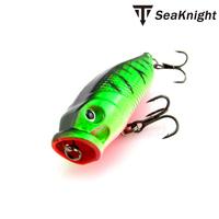 Fishing Lure Popper Topwater Crankbait Hard Bait Fresh Water  Bass Walleye Crappie Minnow Fishing Tackle T50X97 LR-7