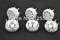 4*Ceramic 8pin PCB MOUNT tube socket FOR EL34,KT88,6SN7,6550, 6CA7,6L6,5881