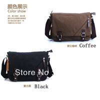 Free shipping / Casual man bag canvas bag / Messenger bag / men's handbag / shoulder bag/ LS023