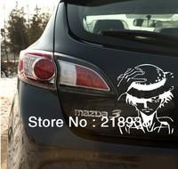 Fee Shipping car Sticker Japanese Anime Cartoon for  Figur Luffy N-372