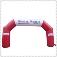 Free shipment Span 8M*3.5M Advertising Inflatable Entrance Inflatable Arch with Your Logo for Promotion Exhibition