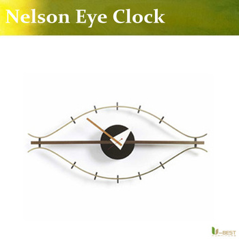 Free shipping modern new classic Nelson eye clock,Original Quality Eye Clock by George Nelson
