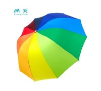 Apollo Rainbow ,folding ,sun protection umbrella 10 umbrella ribs ,gift Free Shipping