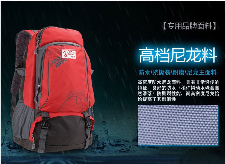 2013 hot sell fashion outdoor nylon sporting bag 40L duffel bag travle bag free shipping(China (Mainland))