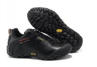 Pure leather hiking shoes, waterproof shoes. Cross country running shoes.