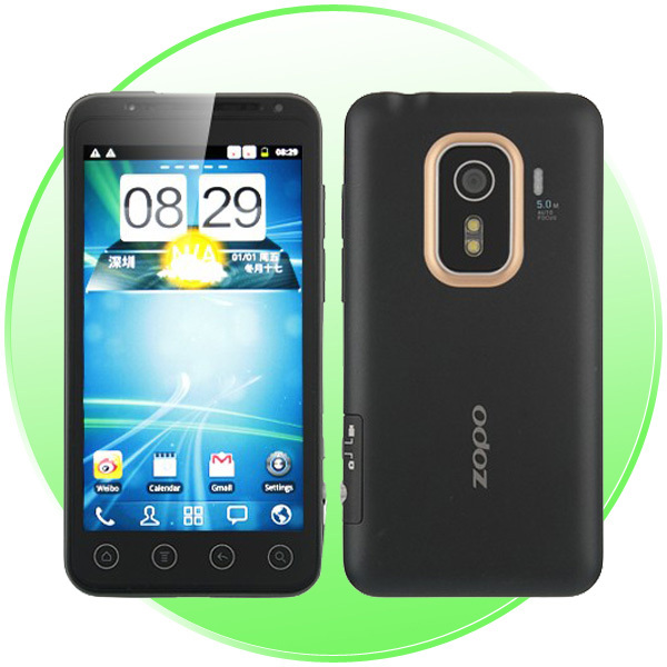 Original ZOPO ZP100 Smart Phone Android 4.0 MTK 6575 Single Core Android Phone 1.0GHz 3G GPS WiFi 4.3&#39;&#39; QHD Screen Fast Shipping(China (Mainland))