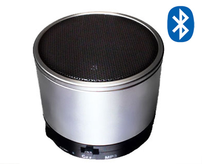SK S10 Bluetooth Portable Mini Speaker with TF Microphone Build in MP3 Silver(China (Mainland))