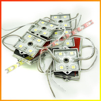 100pcs 5050 SMD 4-LED Module White Waterproof Modules 12V for  channel letters and advertisement signage or light box-10000568