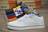 Free Shipping 2013 Unisex Canvas Shoes High-top Canvas Sneakers Shoes for Men and Women shoes SIZE 36-44