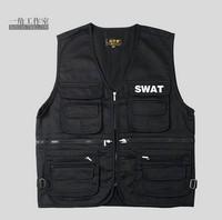 police equipment  multicam  SWAT black tactical vest multifunctional Enforcement SWAT Vest free shipping tatico