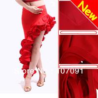 2013 Hot Fashion Latin Tango Chacha Ballroom Dance Dress Skirt Purple / Black S8032