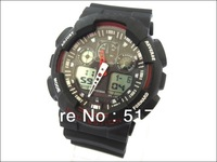 Free shipping ! 2013 NEW  fashion watch classic luxury brand watch  Men's sports G style watch outside led watch